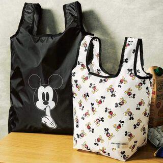 【新品】ミッキーマウス×JAM HOME MADE エコバッグ2個セット(日用品/生活雑貨)