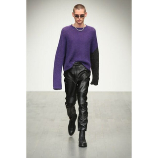 JOHN LAWRENCE SULLIVAN - JOHNLAWRENCESULLIVAN 18aw モヘアニット
