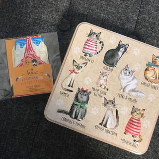 カルディ(KALDI)の新品 カルディ グランマワイルズ ビスケットアソート キャッツティン 猫 缶(菓子/デザート)