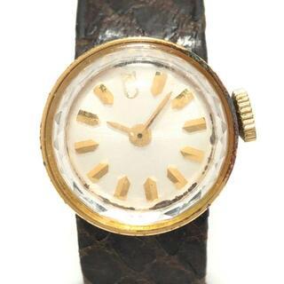 ユナイテッドアローズ(UNITED ARROWS)のアローズ 腕時計 - レディース 白(腕時計)