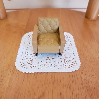 カリモクカグ(カリモク家具)のカリモク60 ミニチュアファニチャー ロビーチェア 1シーター(その他)