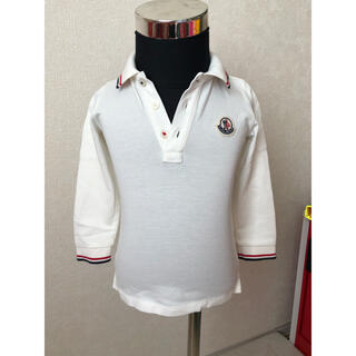 モンクレール(MONCLER)のモンクレール 定番ポロシャツ 長袖 80cm(シャツ/カットソー)