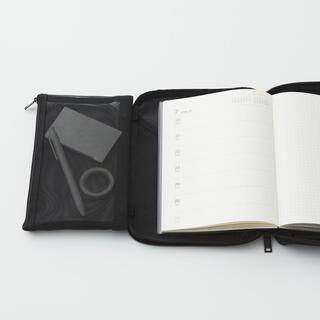 ムジルシリョウヒン(MUJI (無印良品))の無印良品 取り外せるペンケース付き手帳カバー A5サイズ用(カレンダー/スケジュール)