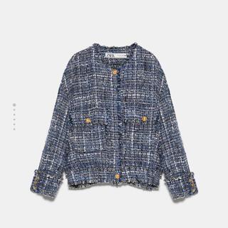 ザラ(ZARA)のZARA Tweed jacket(テーラードジャケット)