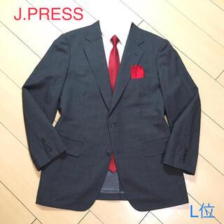 J.PRESS - 極美品★ジェイプレス×サマーウール グレー テーラードジャケット 春夏★A752
