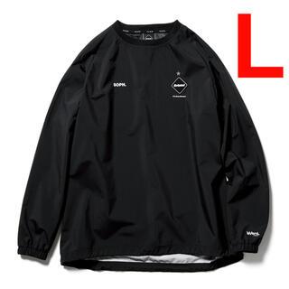 エフシーアールビー(F.C.R.B.)のF.C.Real Bristol  PISTE  Lサイズ 黒(ナイロンジャケット)