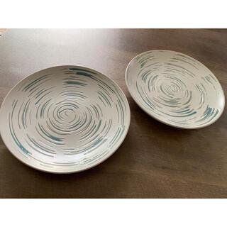 限定値引き☆2皿セット☆ 陶器 皿  カフェインテリア(食器)