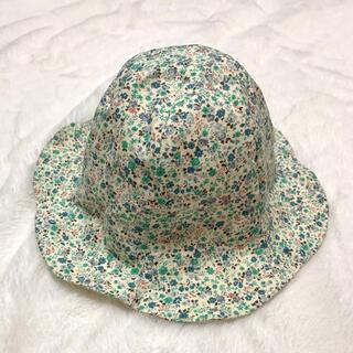 コンビミニ(Combi mini)のベビー リバーシブル 小花柄 チューリップハット 帽子(帽子)