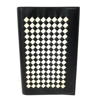 ボッテガヴェネタ(Bottega Veneta)のボッテガヴェネタ 小物入れ美品  黒×白(その他)
