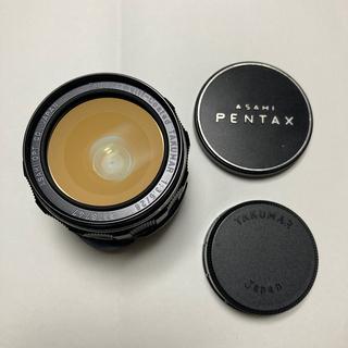 ペンタックス(PENTAX)の美品 SMC TAKUMAR 28mm F3.5 純正前後CAP付 タクマー(レンズ(単焦点))