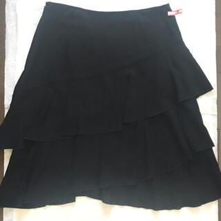 ロートレアモン(LAUTREAMONT)のロートレアモン 黒 フレアミニスカート(ミニスカート)