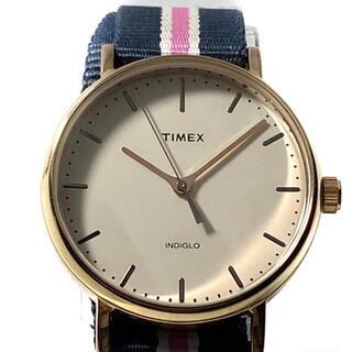 タイメックス(TIMEX)のタイメックス 腕時計 - CR2016CELL 白(腕時計)