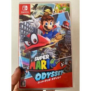ニンテンドースイッチ(Nintendo Switch)のスーパーマリオオデッセイ(家庭用ゲームソフト)