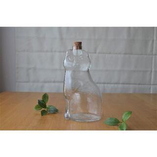 リサラーソン(Lisa Larson)のリサラーソン●ガラスボトル/カラフ ネコ 猫 ROYALKRONA ねこ(その他)