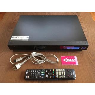 アクオス(AQUOS)のSHARP AQUOS Blu-rayレコーダー(ブルーレイレコーダー)