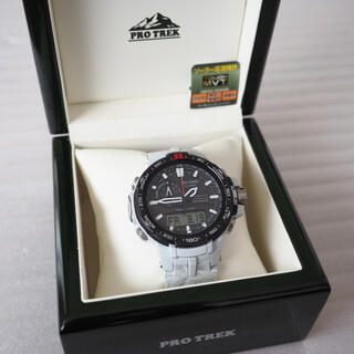 カシオ(CASIO)のレア 美品 カシオ プロトレック PRW-6000SC-7JF 雪山バンド(腕時計(アナログ))