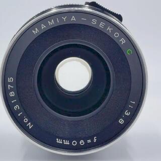 マミヤ(USTMamiya)のMAMIYA マミヤ SEKOR C 90mm f3.8(レンズ(単焦点))
