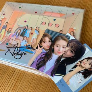 IZ*ONE アンユジン サイン入りCD(K-POP/アジア)