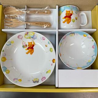ディズニー(Disney)のぽてこ様専用 くまのプー ベビー食器セット(離乳食器セット)