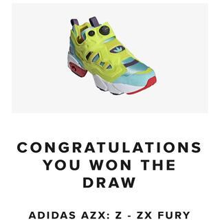 """アディダス(adidas)のADIDAS ZX FURY """"ZX PUMP""""(スニーカー)"""