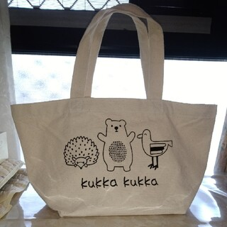 クッカ(kukkA)のkukka ランチバッグ(トートバッグ)