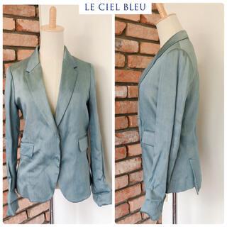 LE CIEL BLEU - 数回 定価3万位 ルシェルブルー ジャケット ブルー系