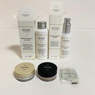 エトヴォス(ETVOS)のエトヴォス 化粧水 美容液 ファンデーション 練り石鹸セット(化粧水/ローション)
