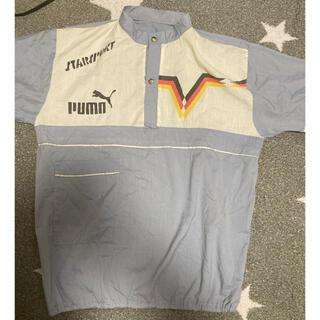プーマ(PUMA)のUSA古着 PUMAノーカラーシャツ STARSPORT(シャツ)