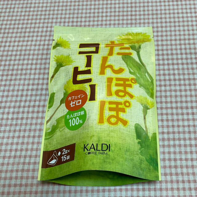 KALDI(カルディ)のたんぽぽコーヒー たんぽぽ茶 カルディ 食品/飲料/酒の飲料(茶)の商品写真