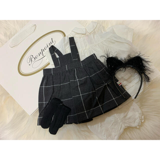 ボンポワン(Bonpoint)の新品 ボンポワン チェリーちゃん お洋服(その他)