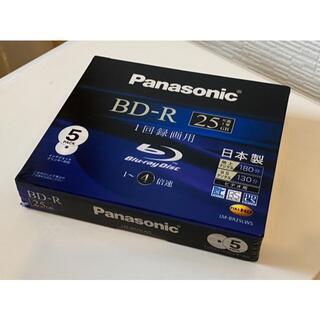 パナソニック(Panasonic)のPanasonic BD-R 25GB 5枚パック(PC周辺機器)