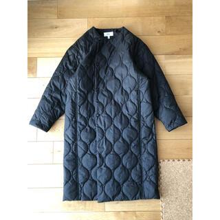 ハイク(HYKE)の【そら様】HYKE キルティングコート ブラック サイズ1(ロングコート)