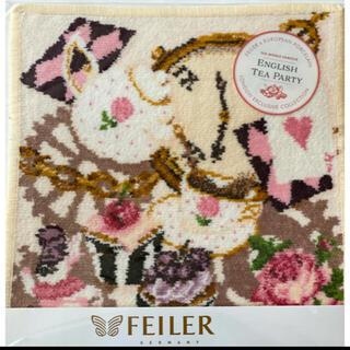 フェイラー(FEILER)の【新品】FEILER イギリス限定 ハンカチ イングリッシュティーパーティー(ハンカチ)