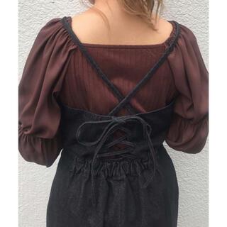 ナイスクラップ(NICE CLAUP)のサロペットスカート(サロペット/オーバーオール)