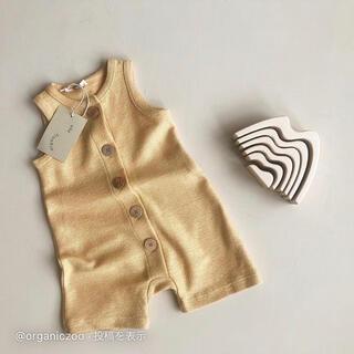 キャラメルベビー&チャイルド(Caramel baby&child )のorganic zoo サロペット 1-2y(その他)