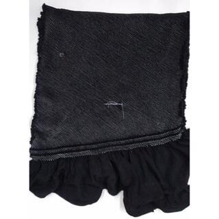 兵児帯 黒 黒系 総絞り 正絹 男物 高級品 難あり(浴衣帯)
