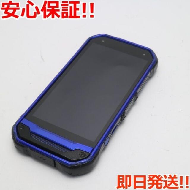 京セラ(キョウセラ)の良品中古 SIMロック解除済 au TORQUE G03 ブルー 白ロム スマホ/家電/カメラのスマートフォン/携帯電話(スマートフォン本体)の商品写真