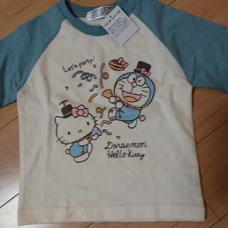 サンリオ(サンリオ)の新品未使用☆キティ×ドラえもん☆ロンT(Tシャツ)