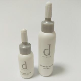 ディープログラム(d program)のdプログラム ホワイトニング 化粧水 乳液(化粧水/ローション)
