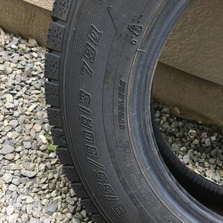 グッドイヤー(Goodyear)のグッドイヤー スタッドレスタイヤ 155/80R13(タイヤ)