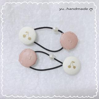 ミナペルホネン(mina perhonen)のハンドメイド ヘアゴム ❁︎(ファッション雑貨)