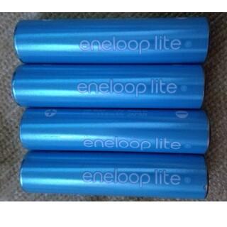 サンヨー(SANYO)のエネループ ライト 単4形(バッテリー/充電器)