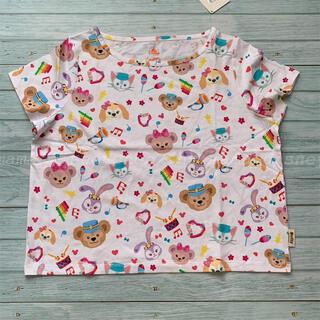 ダッフィー(ダッフィー)の🌟SALE🌟香港ディズニー ダッフィーフレンズ レディース 半袖Tシャツ(Tシャツ(半袖/袖なし))