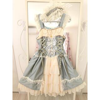 ベイビーザスターズシャインブライト(BABY,THE STARS SHINE BRIGHT)のミカエルの祝福JSK & ヘッドドレス(ひざ丈ワンピース)