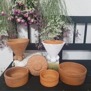 ミニ多肉植物を使って、かわいい寄せ植えを作ってみませんか【8点】Aセット*.。❁(プランター)