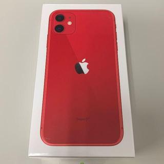 アップル(Apple)の新品 Simフリー iPhone 11 64GB(スマートフォン本体)