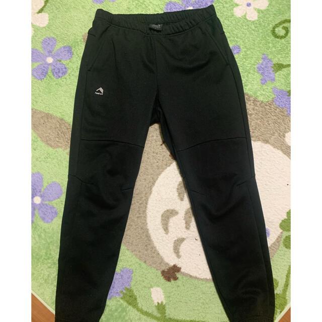 WALKMAN(ウォークマン)のワークマン  防風パンツ スウェット L 黒 使用感あり メンズのパンツ(その他)の商品写真