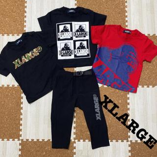 エクストララージ(XLARGE)のXLARGE トップス パンツ セット(Tシャツ)