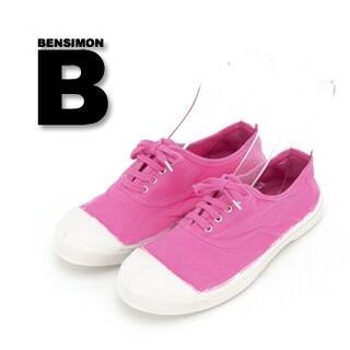 ベンシモン(BENSIMON)の新品¥6,380 BENSIMONベンシモン * 定番スニーカー ピンク37(スニーカー)