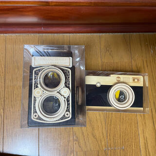カルディ(KALDI)のKALDI カメラ(木箱)2個セット(菓子/デザート)